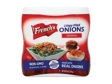 French's Fried Onions, Peppers, Pickles or Crunchy Jalapeños 5-6 oz