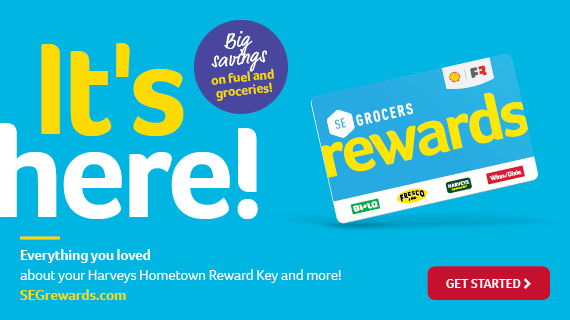 SE Grocers rewards is here! Get Started today!